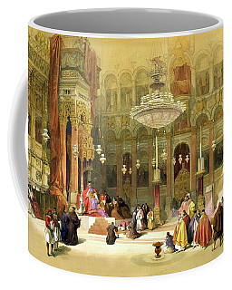 Inside The Church Of The Holy Sepulchre Coffee Mug