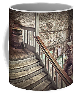 Inside The Cotton Exchange Coffee Mug by Phil Mancuso