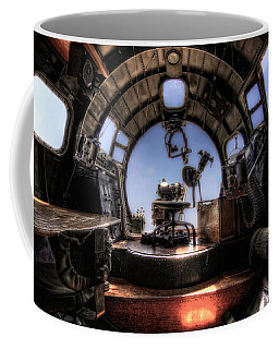 Inside The Flying Fortress Coffee Mug