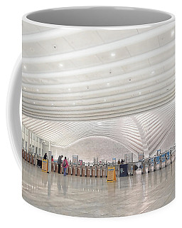 Inside The Oculus - New York City's Financial District Coffee Mug
