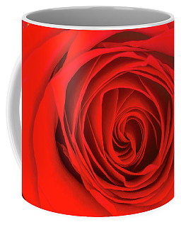 Inside The Red Rose Coffee Mug
