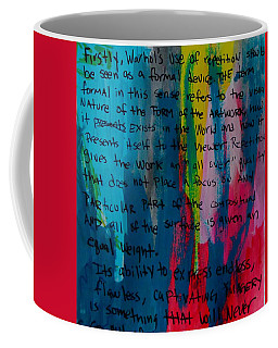 Inspiration From Warhol Coffee Mug