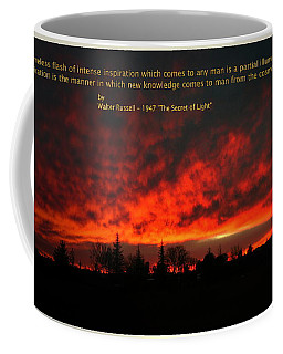 Coffee Mug featuring the photograph Inspiration by Joyce Dickens