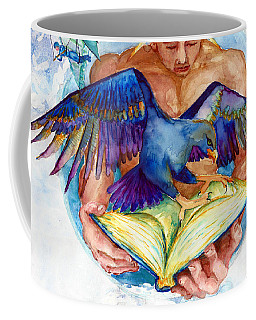 Inspiration Spreads Its Wings Coffee Mug by Melinda Dare Benfield