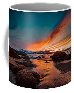 Inspirational Flow On Fire Coffee Mug