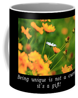 Inspirational-being Unique Is A Gift Coffee Mug