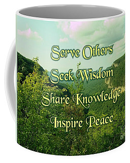 Inspire Peace Coffee Mug