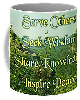 Inspire Peace Coffee Mug