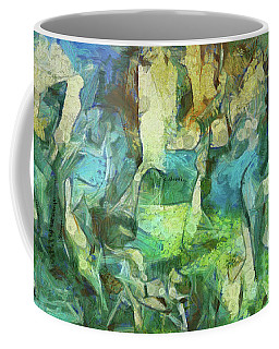 Inspired By Roberto Matta Coffee Mug