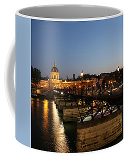 Coffee Mug featuring the photograph Institute Of France by Andrew Fare