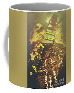 Instrument Of Crime Coffee Mug