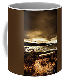 Intense Coastline Drama Coffee Mug