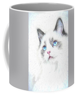 Intense Gaze Coffee Mug