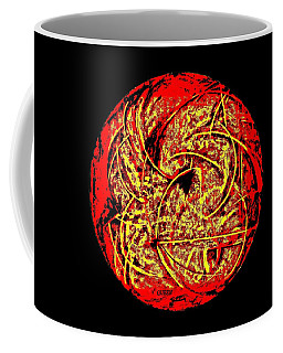 Coffee Mug featuring the painting Intense Pain -  Dedicated by VIVA Anderson