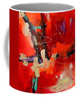 Intensity - Art By Elise Palmigiani Coffee Mug by Elise Palmigiani