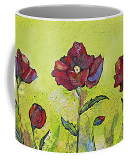 Intensity Of The Poppy I Coffee Mug
