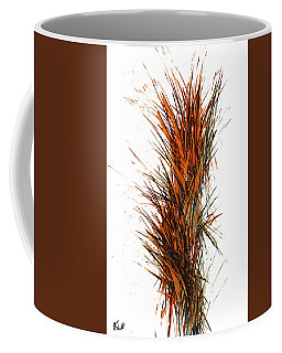 Coffee Mug featuring the painting Intensive Abstract Painting 1030.050512 by Kris Haas
