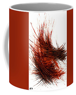 Intensive Abstract Painting 976.111710 Coffee Mug