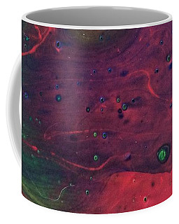 Coffee Mug featuring the painting Intergalactic  by Robbie Masso