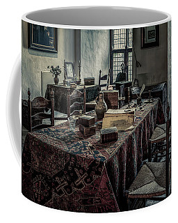 Interior Of A Room In A Medieval Castle Coffee Mug