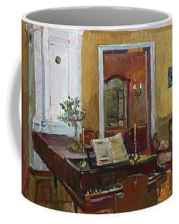 Interior With Piano Coffee Mug