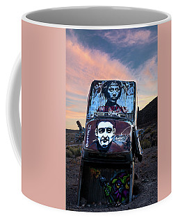 Coffee Mug featuring the photograph International Car Forest Of The Last Church 1 by James Sage
