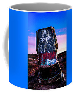 Coffee Mug featuring the photograph International Car Forest Of The Last Church 4 by James Sage