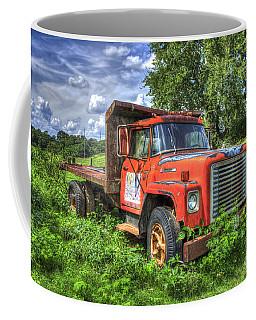 International Retirement Home 1974 International Harvester Company 1600 Loadstar Truck Art Coffee Mug