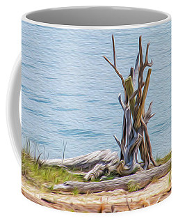 Intertwined Thoughts By The Ocean Coffee Mug