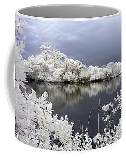 Intimate Lake In Infrared Coffee Mug