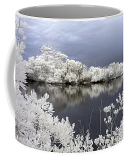 Intimate Lake In Infrared Coffee Mug