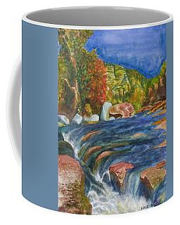 Into Slide Rock Coffee Mug