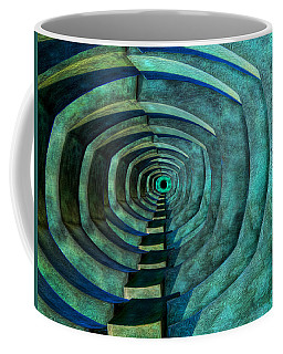 Coffee Mug featuring the photograph Into The Dark by Paul Wear