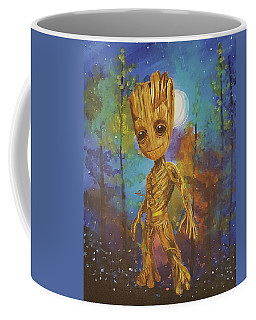 Into The Eyes Of Baby Groot Coffee Mug