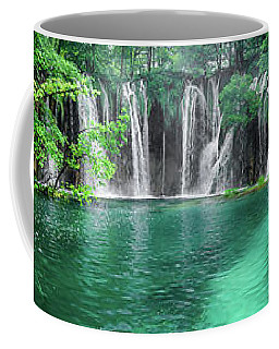 Into The Waterfalls - Plitvice Lakes National Park Croatia Coffee Mug
