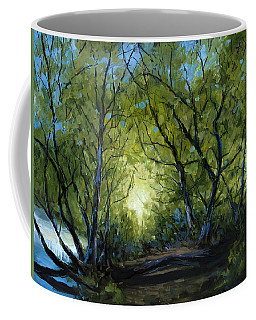 Into The Light Coffee Mug by Billie Colson