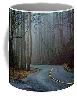 Coffee Mug featuring the photograph Into The Mist by Douglas Stucky