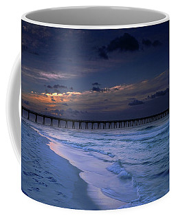 Coffee Mug featuring the photograph Into The Night by Renee Hardison