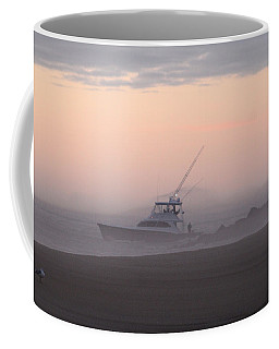 Into The Pink Fog Coffee Mug