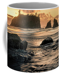 Coffee Mug featuring the photograph Into The Sea - Ruby Beach by Expressive Landscapes Fine Art Photography by Thom
