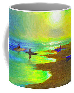 Into The Surf Coffee Mug by Caito Junqueira
