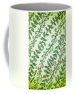 Into The Thick Of It, Green Coffee Mug