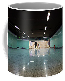 Into The Tunnel Coffee Mug