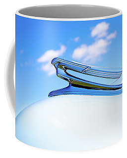 Coffee Mug featuring the photograph Into The Wild Blue Yonder by Rebecca Cozart