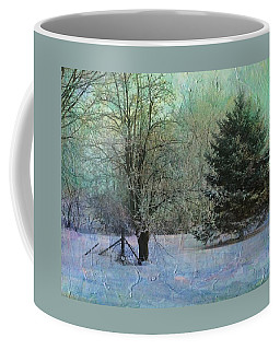 Into The Winter Morning Coffee Mug