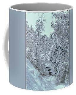 Coffee Mug featuring the photograph Into White by Wayne King