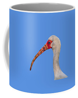 Coffee Mug featuring the photograph Intriguing Ibis .png by Al Powell Photography USA
