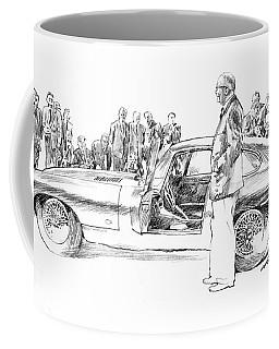 Introducing The 1962 Jag E-type Coupe Coffee Mug