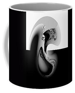 Introspection Digital Art Coffee Mug