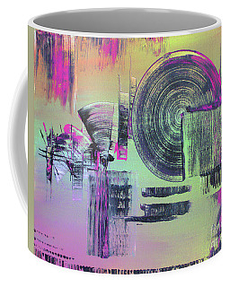 Coffee Mug featuring the painting Introvert by Melissa Goodrich
